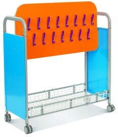Callero Cloakroom Trolley