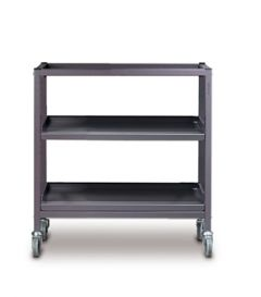 Wide Shelved Trolley 725mm High