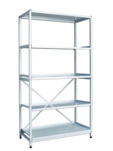 Wide Frame with Shelves