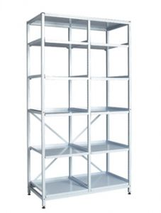 Double Frame with Shelves