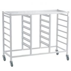 Compact Assembled Treble Trolley