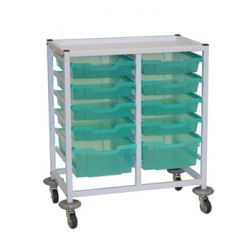 Compact Double Trolley Set A