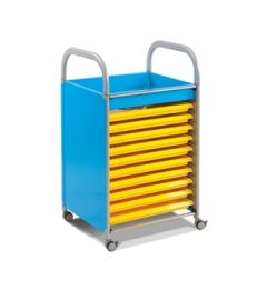 Callero Art Trolley With Trays