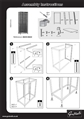Instructions for Double Column Tall Frame