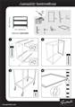 Instructions for Wide Shelf Trolley
