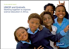 Gratnells and Unicef together in Africa improving Science education
